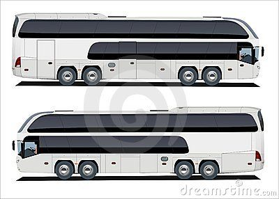 transparent library Gigaliner tour farajsogoma luxury. Vector bus neoplan