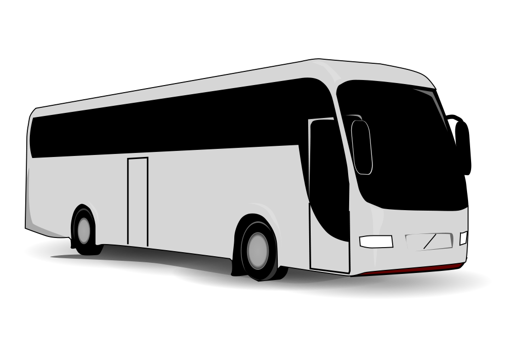 banner freeuse stock Vector bus outline. File svg wikimedia commons