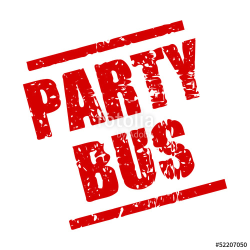 clip art library stock Stempel eckig i stock. Vector bus party