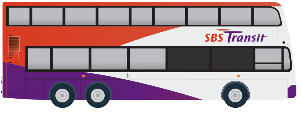 svg royalty free Transit clipart clipground cartoon. Vector bus sbs