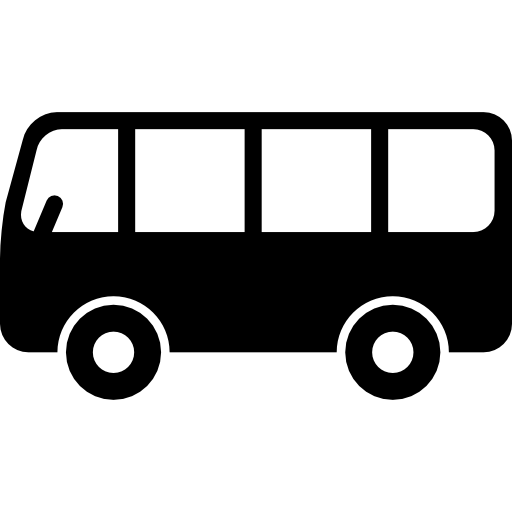png transparent library Free transport icons icon. Vector bus side view