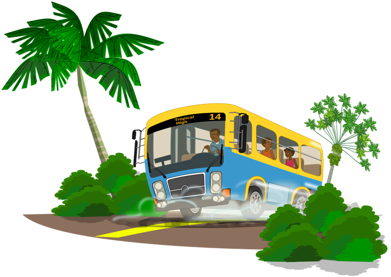 clipart royalty free download Vector bus tour. Collection of free dismissing