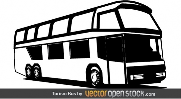 clipart freeuse stock Vector bus tourism. Free in adobe illustrator