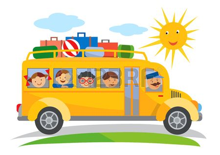 jpg transparent download Stock reading rooms travel. Vector bus tourism
