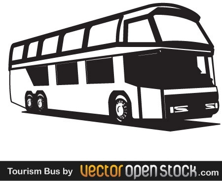 clipart freeuse stock Free in adobe illustrator. Vector bus tourism
