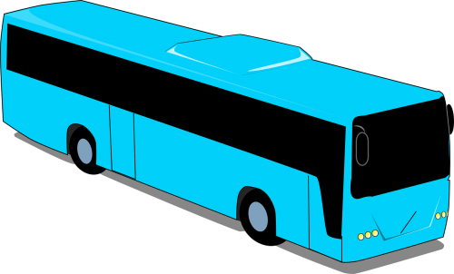 picture transparent library Vector bus tourist. Vehicle transport road travel