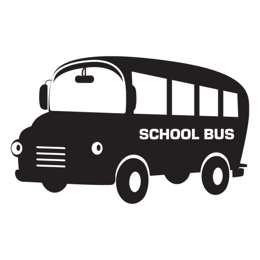 graphic Vector bus transparent. School png svg