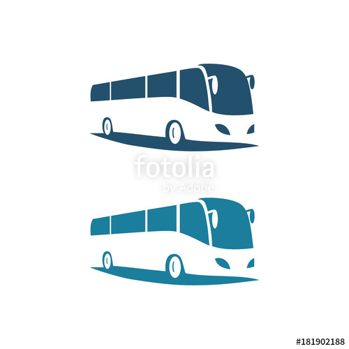 vector free stock Vector bus transport. Logo stock image and