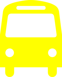 vector library library Yellow Bus Clip Art at Clker