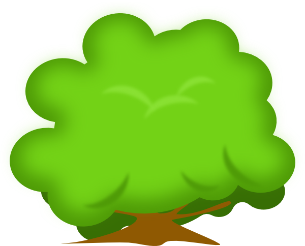 banner royalty free download Soft bush clip art. Vector bushes animated