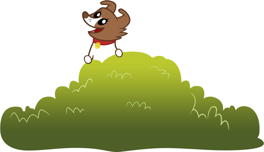 vector library Winona bush by emper. Vector bushes cartoon
