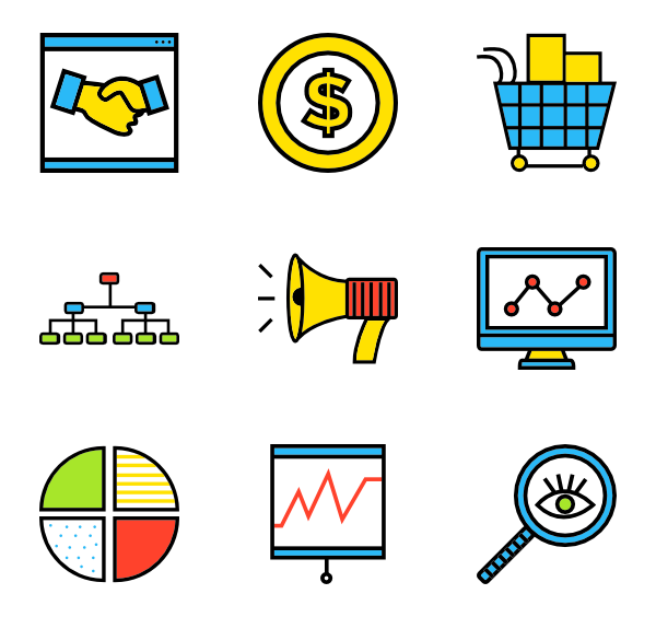 picture download  card icon packs. Vector business buisness