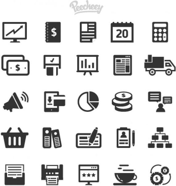 png transparent Collection of gray simple. Vector business icon