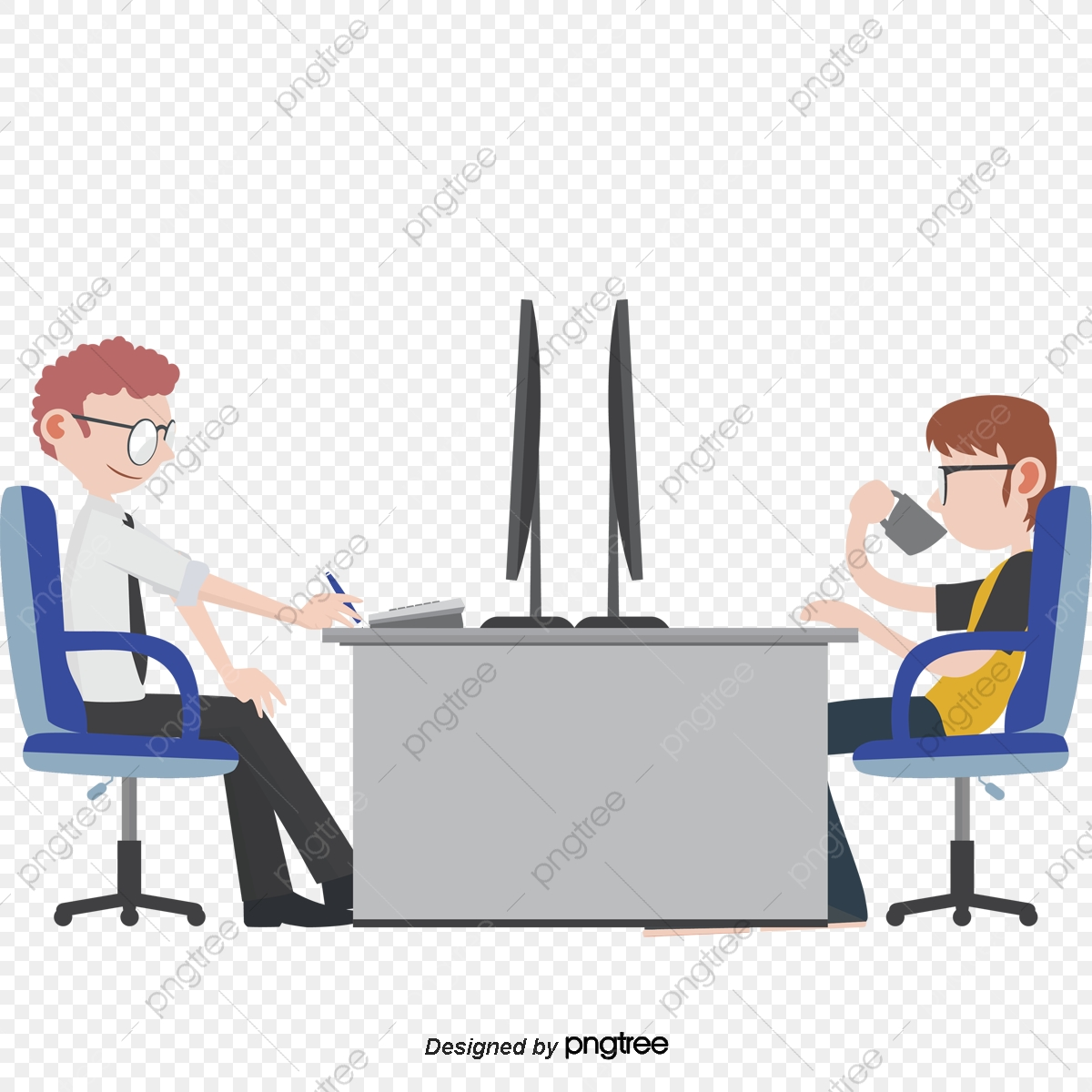 jpg free download Vector business negotiation. Dialogue