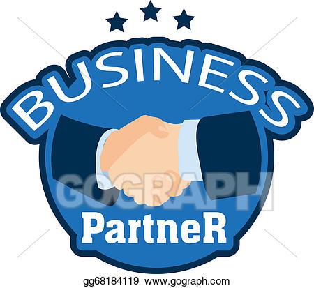 svg Clip art stock eps. Vector business partner
