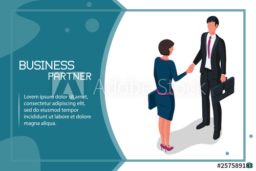 clip transparent download Handshake man and women. Vector business partner