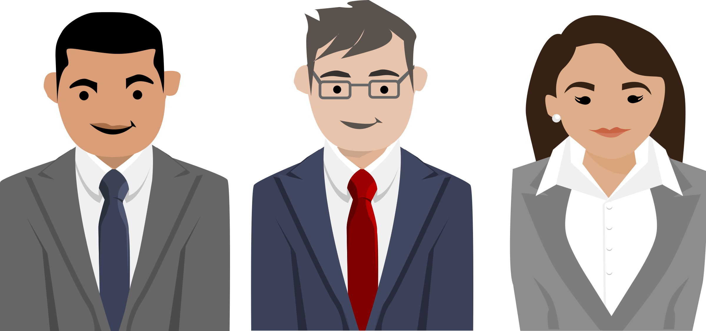 freeuse download Vector business person.  letters for free