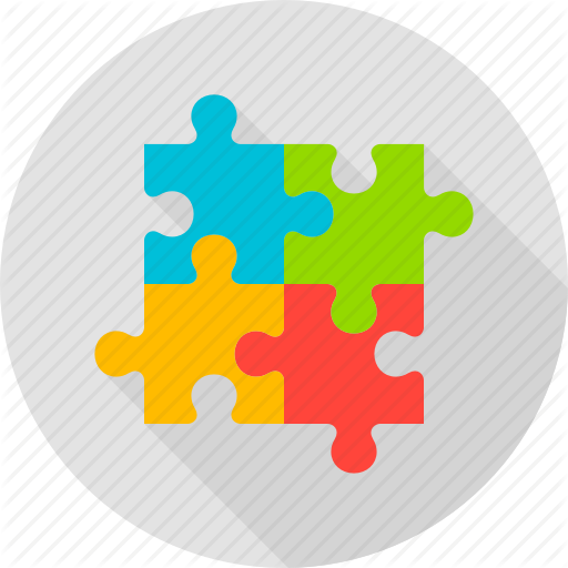 clip download Vector business puzzle. Big data by anna