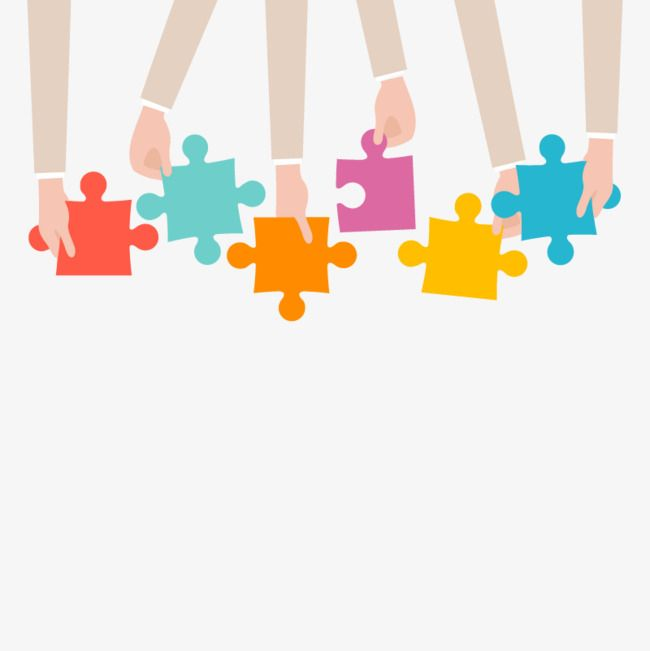 png free library Module color pieces png. Vector business puzzle