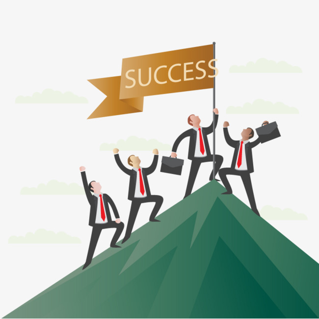 graphic free stock Download free png banne. Vector business success