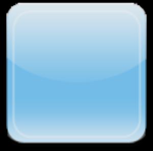 free Glass App Button