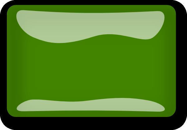 graphic library stock Green rectangle clip art. Vector button blank