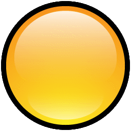 vector freeuse download Vector button blank. Download yellow icon vectorpicker