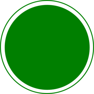 svg Glossy Green Circle Button Clip Art at Clker