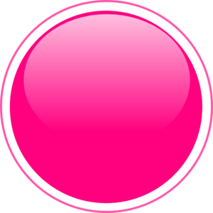 vector free Glossy pink clip art. Vector button circle