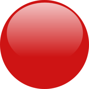 graphic free Vector button icon. Glossy red clip art