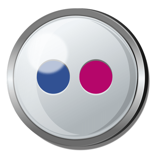 royalty free download Flickr round transparent png. Vector button metal
