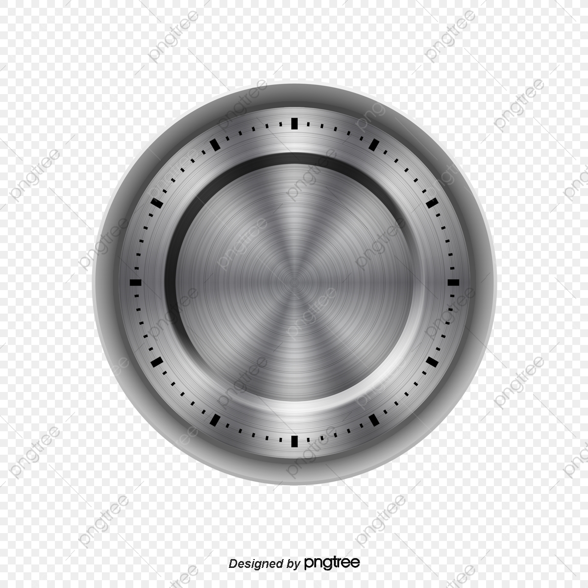 clip art free library Metallic feel png and. Vector button metal