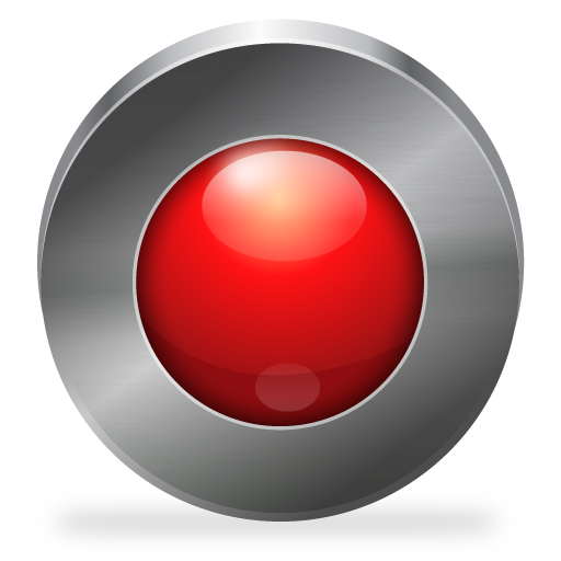 picture free download Vector button record.  png for free