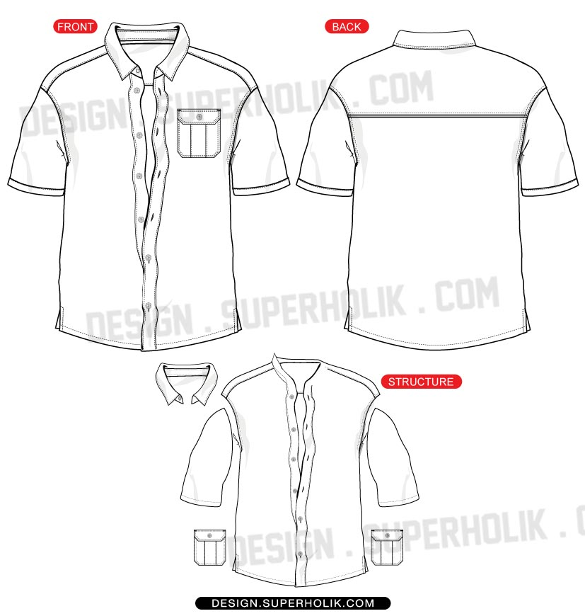 picture transparent stock  up images. Vector button shirt