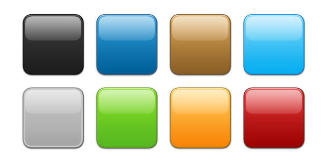 picture stock Free icon icons library. Vector button square