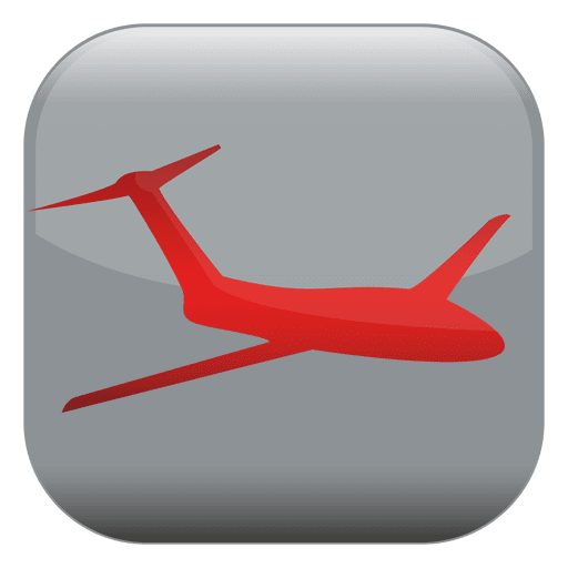 clipart download Vector button square. Airplane transparent png svg