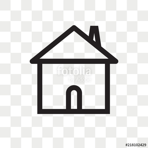 picture library library Vector button transparent. Home icon isolated on