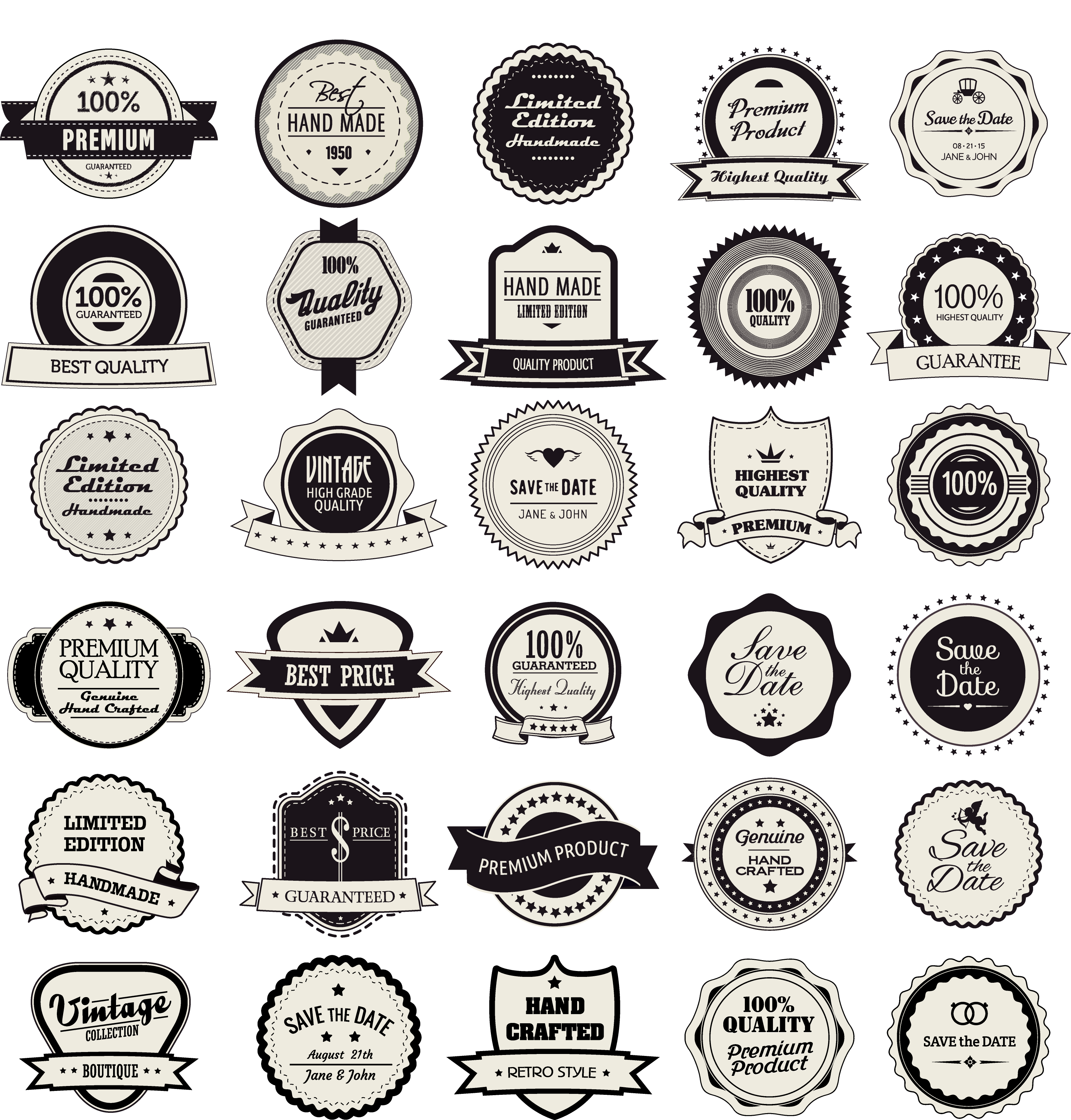 picture library stock Label clothing badge circle. Vector button vintage