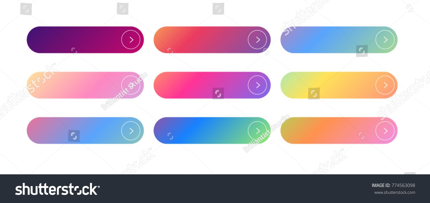 banner transparent download Vector buttons blank. Call to action set