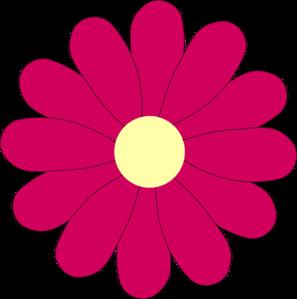 jpg Flower Pink Clip Art at Clker