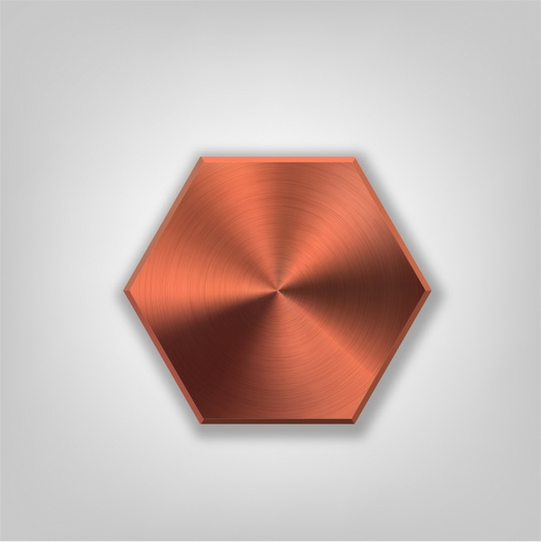 clip free library Metal button free in. Vector buttons hexagon