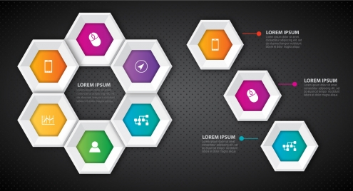 clipart freeuse download Vector buttons hexagon. Button vectors stock for