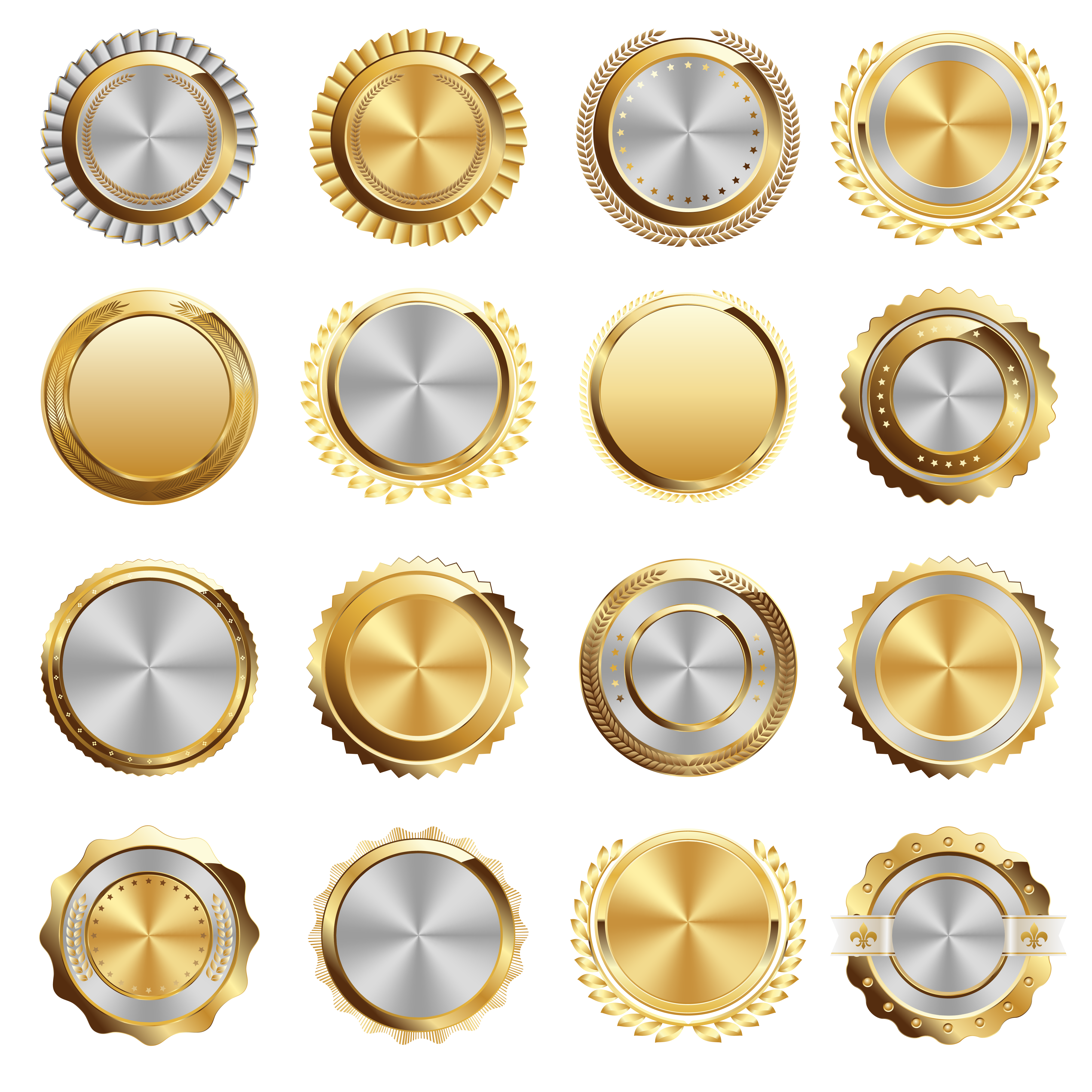 picture transparent stock Vector buttons metal. Button download icon logo