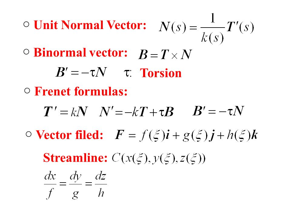 clipart library library Vector calc binormal. Chapter differential calculus functions