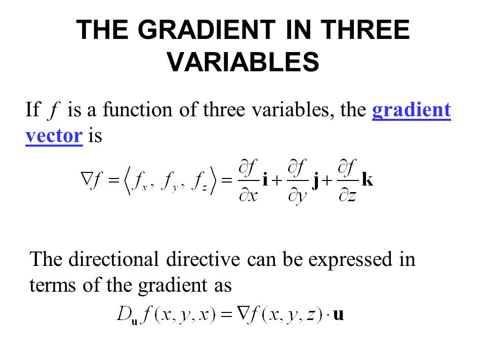 banner library download Vector calc gradient. Section directional derivatives and