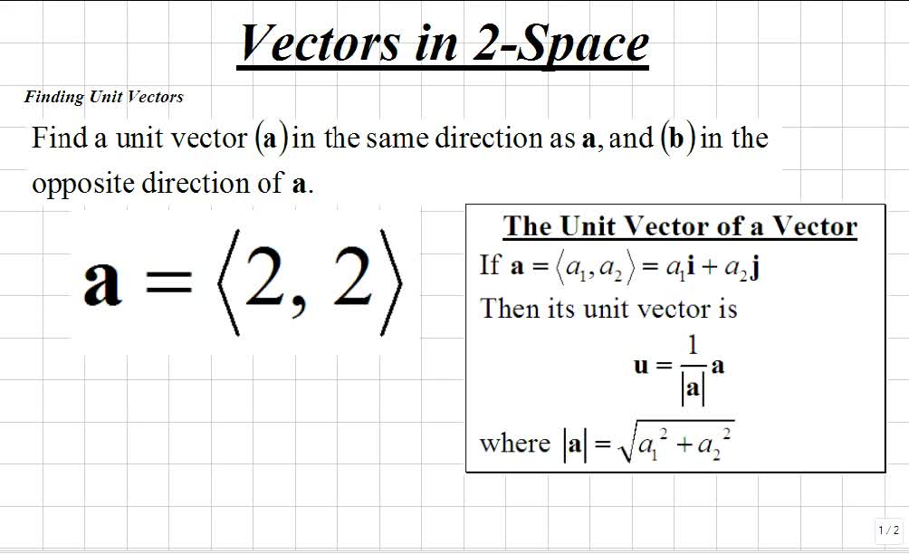jpg freeuse library Classroom calculus iii finding. Vector calc unit
