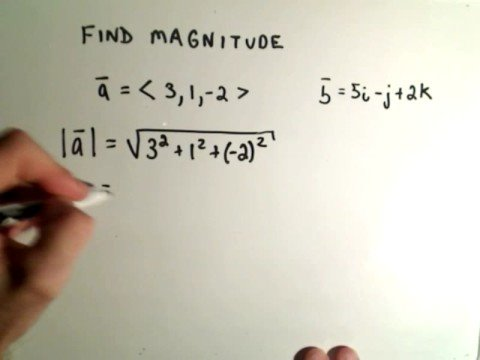 graphic transparent Vector calculation finding. Vectors magnitude or length