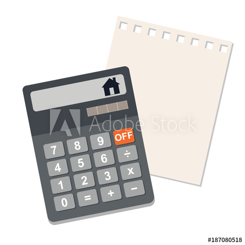 banner transparent download Of the cost country. Vector calculation flat