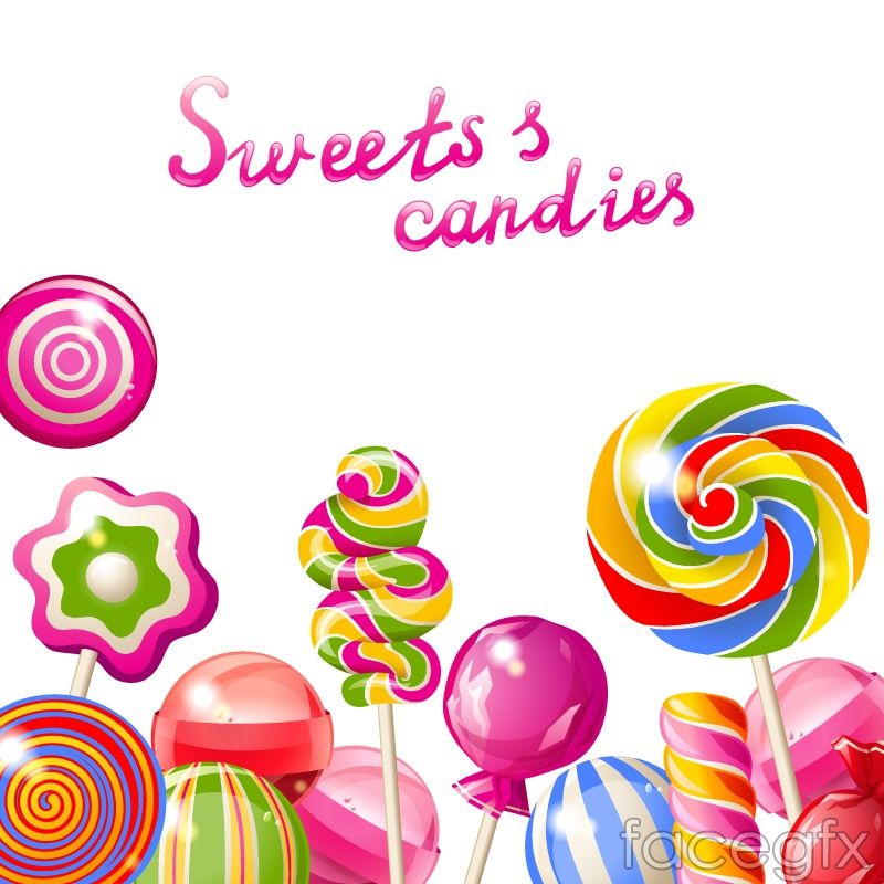 image freeuse download Vector candy background. Delicious h s fundraising