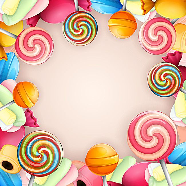 clip art library Millions of png images. Vector candy background